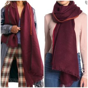 NWT Free People Common Thread Blanket Scarf